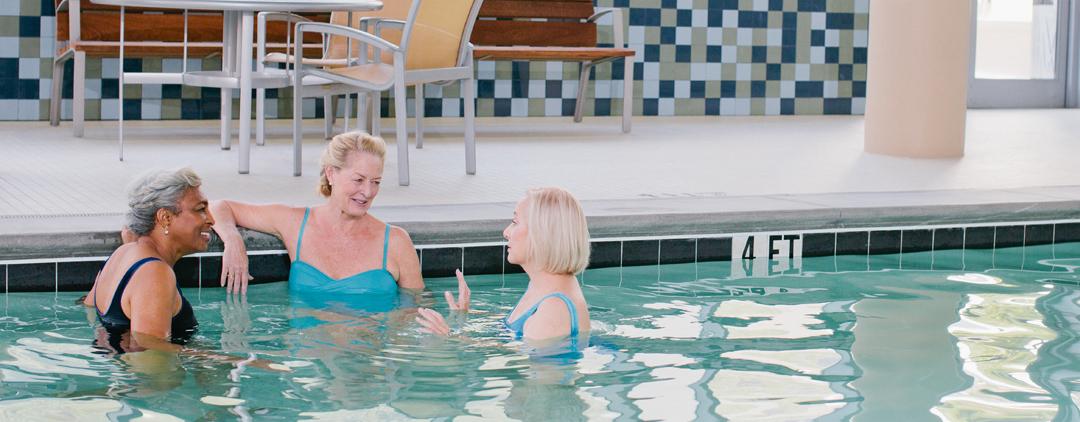 Women in Pool