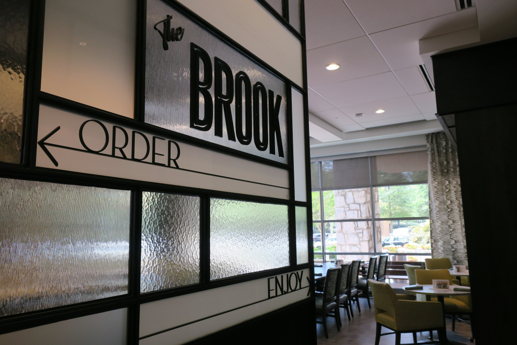 The Brook: laid-back fare, eat-in or grab-and-go