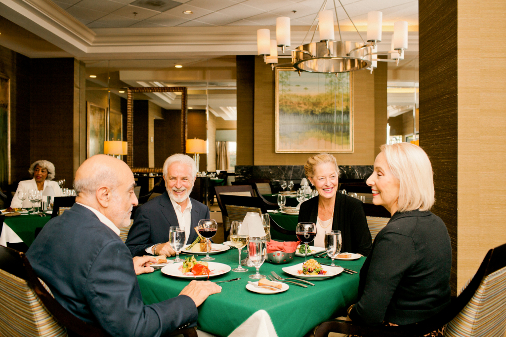 A fine dining destination: Elegant, upscale, a true dining experience