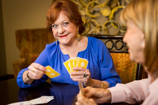Dedicated rooms are available for Bridge and other card games.