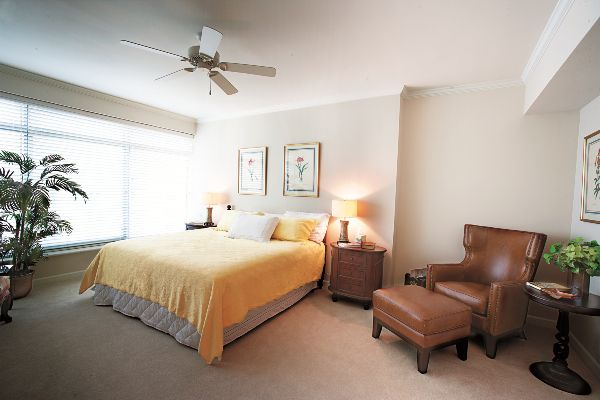 One- and two-bedroom residences are available in many floorplans.