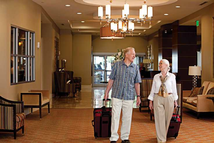 Residents return to Lenbrook after a summer vacation.
